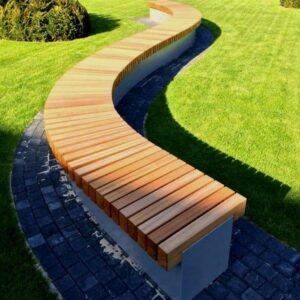 Sæder til støttemur